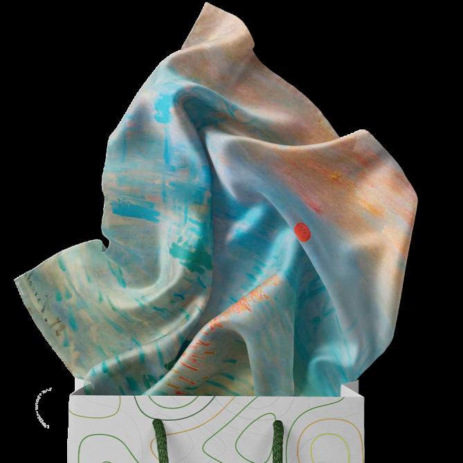 روسری شهودی از طلوع آفتاب
